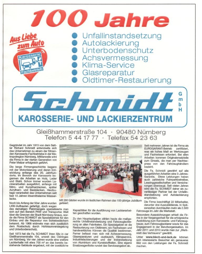 100 Jahre Schmidt