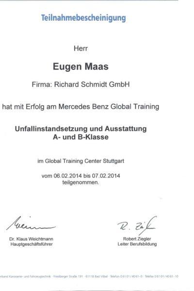 Maas A- und B-Klasse