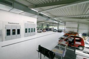 Neue Lackierhalle 1