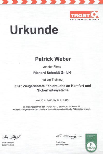 Patrick Fehlersuche 2015