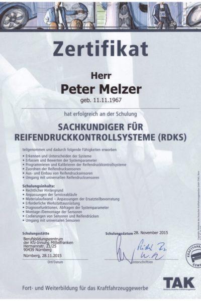 Urkunde PM RDKS 2015